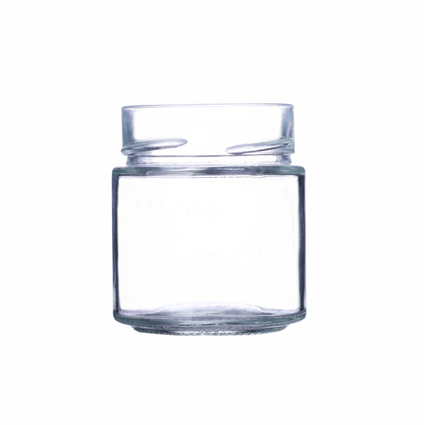156ml round flint ergo twist jar